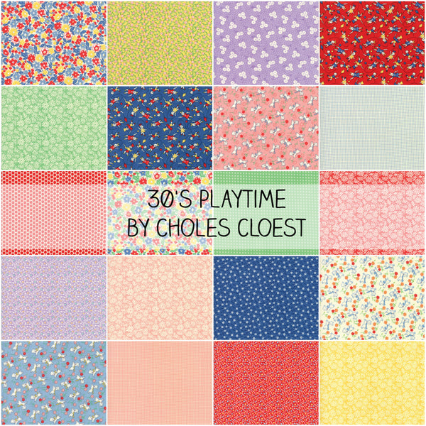 30's Playtime 2017 by Chloe's Closet for Moda Fat Quarter Bundle