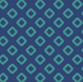 "108"" Wide Backing Navy Diamonds by Allison Harris for Windham Fabrics"