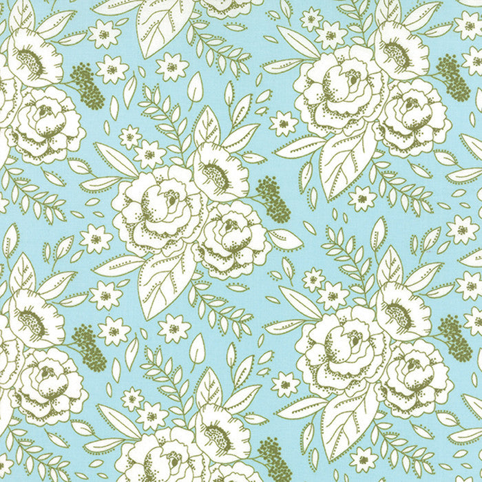Solid Periwinkle by Birch Fabrics Organic Cotton