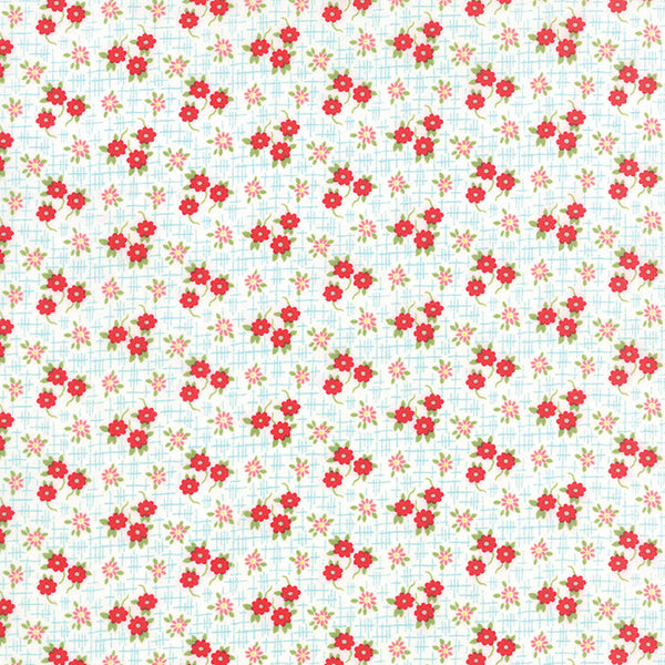 Daysail by Bonnie and Camille Meadow Creamy White - Lady Belle Fabric