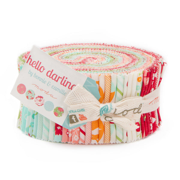 Hello Darling by Bonnie and Camille for Moda Jelly Roll - Lady Belle Fabric  - 1