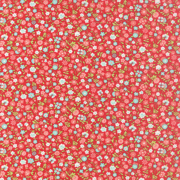 Vintage Picnic Red Polka Dot 55128-11 by Bonnie and Camille for Moda