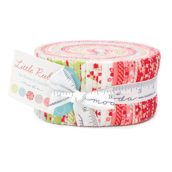 Little Ruby by Bonnie and Camille for Moda Jelly Roll