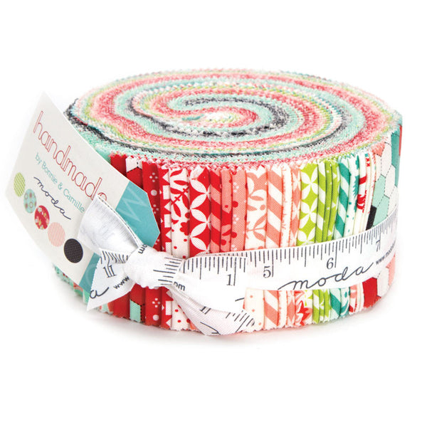 Handmade by Bonnie and Camille for Moda Jelly Roll