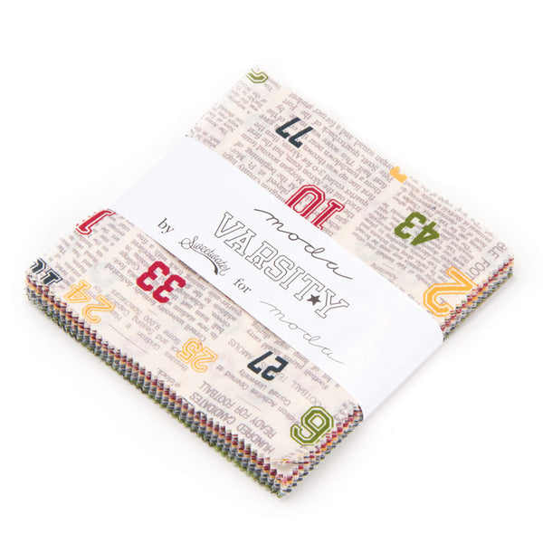 Varsity by Sweetwater for Moda Charm Pack - Lady Belle Fabric