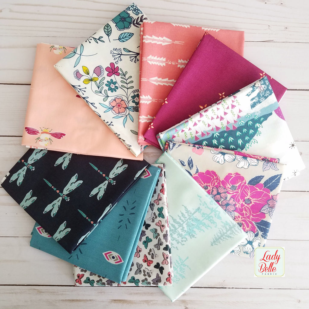 Maureen Cracknell Designer Bundle from Art Gallery Fabrics Fat Quarter Bundle