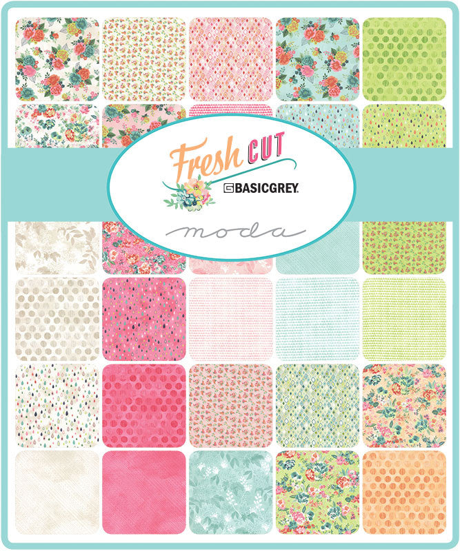 Fresh Cut by Basic Grey for Moda Jelly Roll - Lady Belle Fabric  - 2
