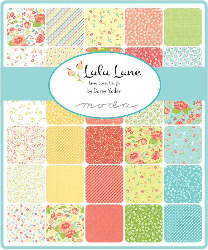 Lulu Lane by Corey Yoder for Moda Fabrics Fat Eighth Bundle