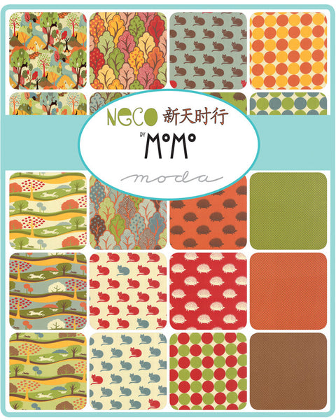 Neco by MoMo for Moda Fat Quarter Bundle - Lady Belle Fabric  - 2
