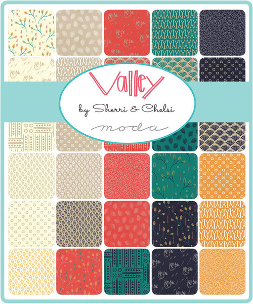 Valley by Sherri and Chelsi for Moda Fabrics Half Yard Bundle