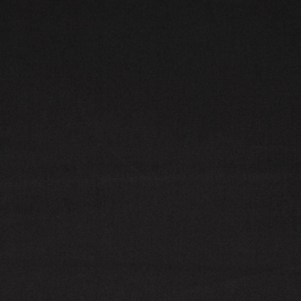 Solid Black by Birch Fabrics Organic Cotton