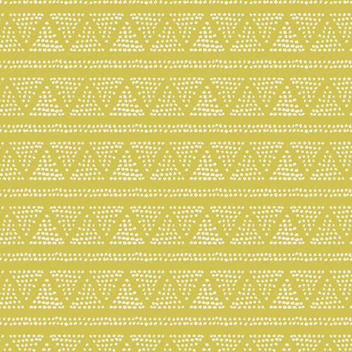 Cultivate by Bonnie Christine Plotted Farm Moss - Lady Belle Fabric