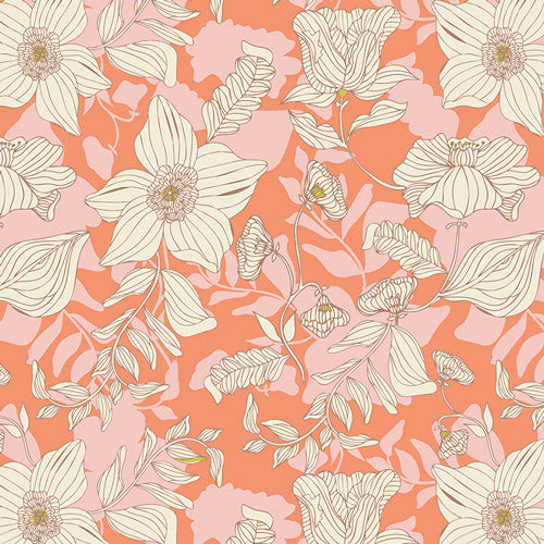 Cultivate by Bonnie Christine Thrive Apricot - Lady Belle Fabric