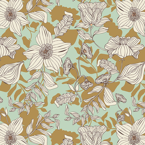 Cultivate by Bonnie Christine Thrive Passiflora - Lady Belle Fabric
