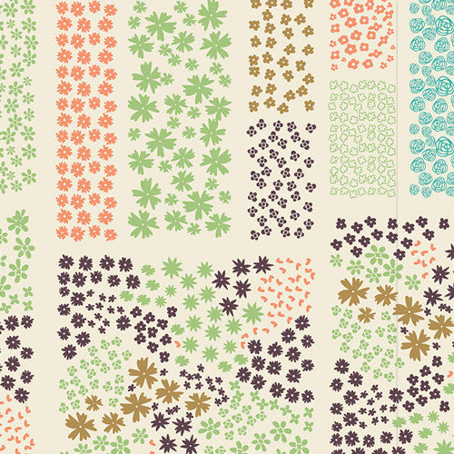 Cultivate by Bonnie Christine Floriculture Noontide - Lady Belle Fabric