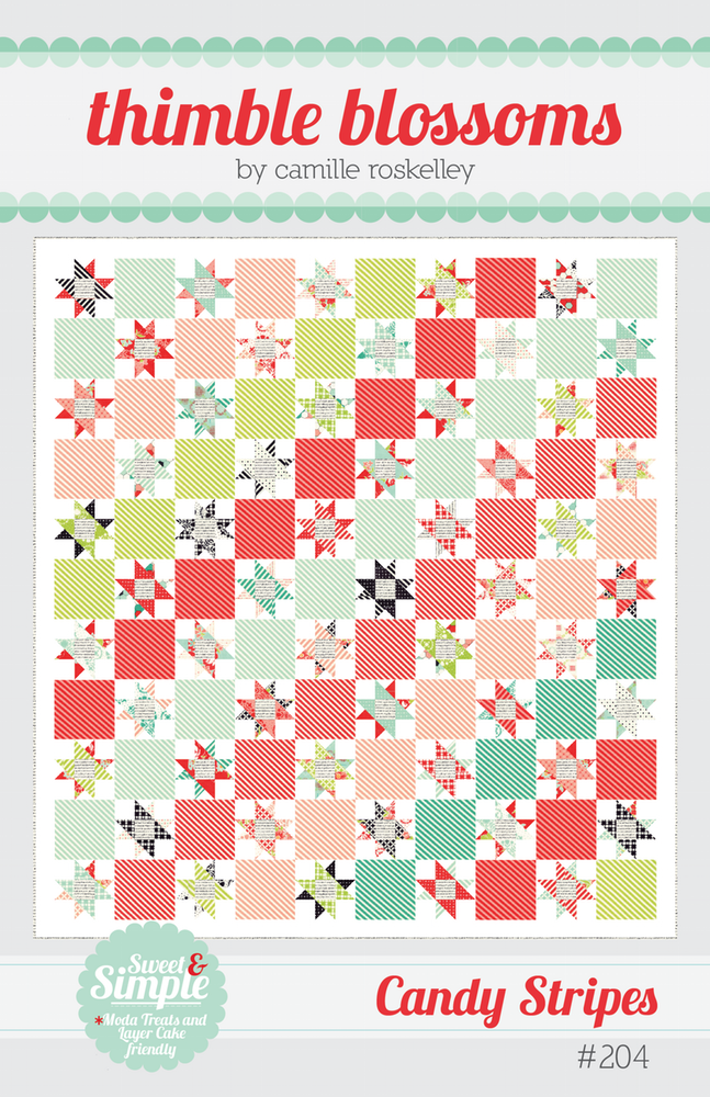 Red Letter Day Quilt Pattern from Thimble Blossoms By Camille Roskelley