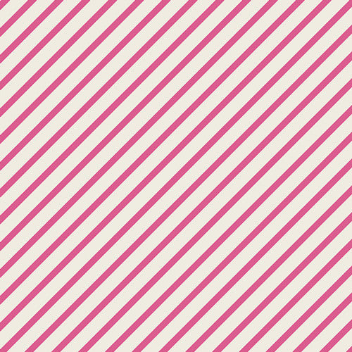 Fantasia by Sara Lawson for Art Gallery Fabrics Monokeros Stripe Candy - Lady Belle Fabric