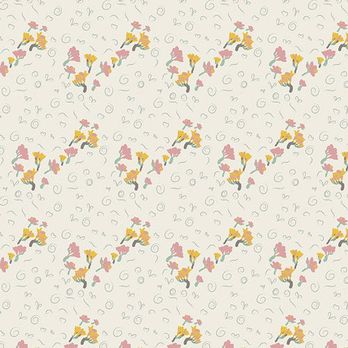 Fantasia by Sara Lawson for Art Gallery Fabrics Bous Trail Warmet - Lady Belle Fabric