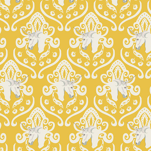 Fantasia by Sara Lawson for Art Gallery Fabrics Equus Crest Shine - Lady Belle Fabric