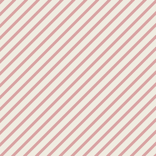 Fantasia by Sara Lawson for Art Gallery Fabrics Monokeros Stripe Gum - Lady Belle Fabric