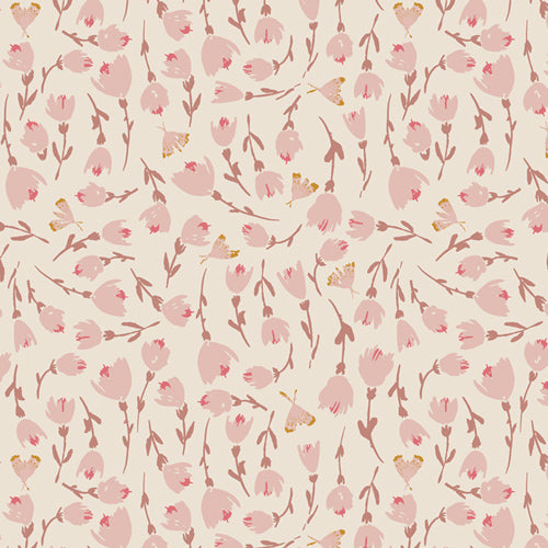 Discovered Rosewood by Bonnie Christine for Art Gallery Fabrics from Rosewood Fusion