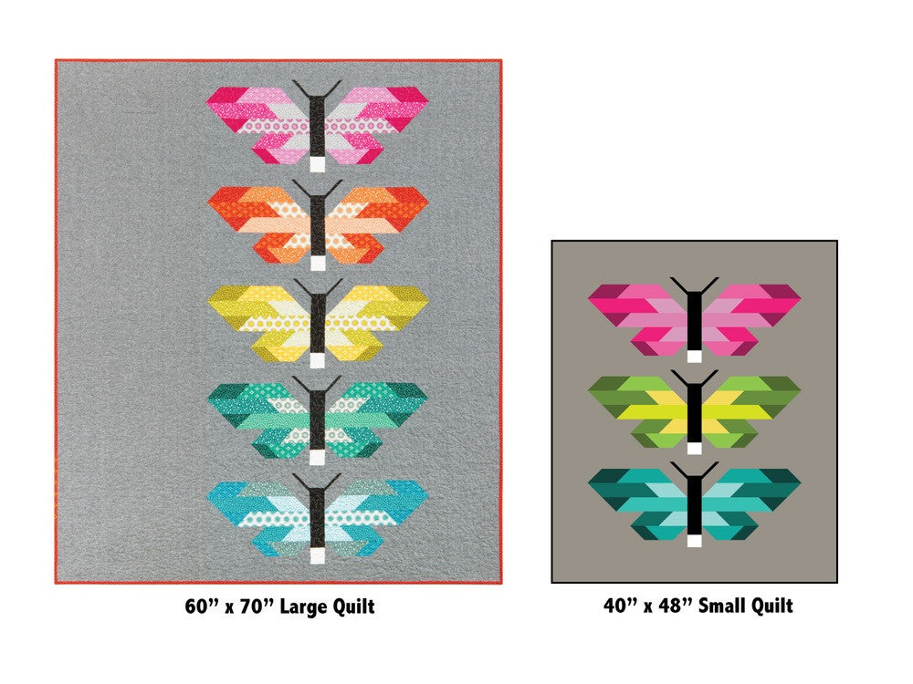 Frances Firefly Quilt Kit by Elizabeth Hartman