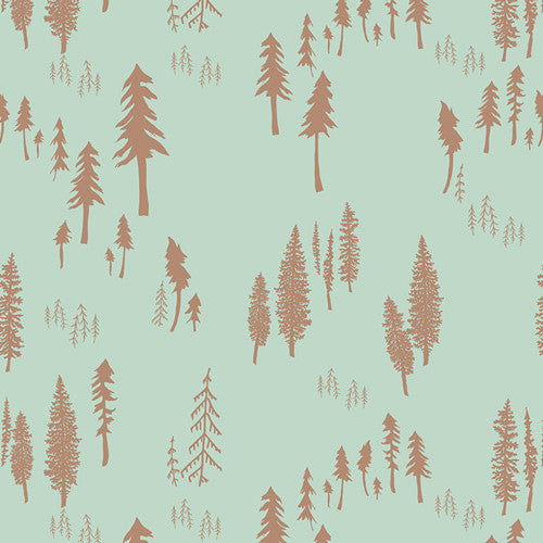 Bonnie Christine fabric Hello BearTimberland