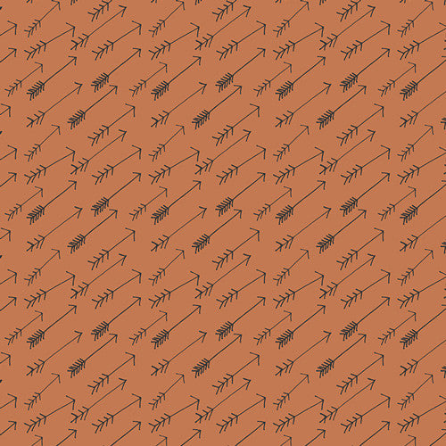 Solid Mahogany by Birch Fabric Organic Cotton