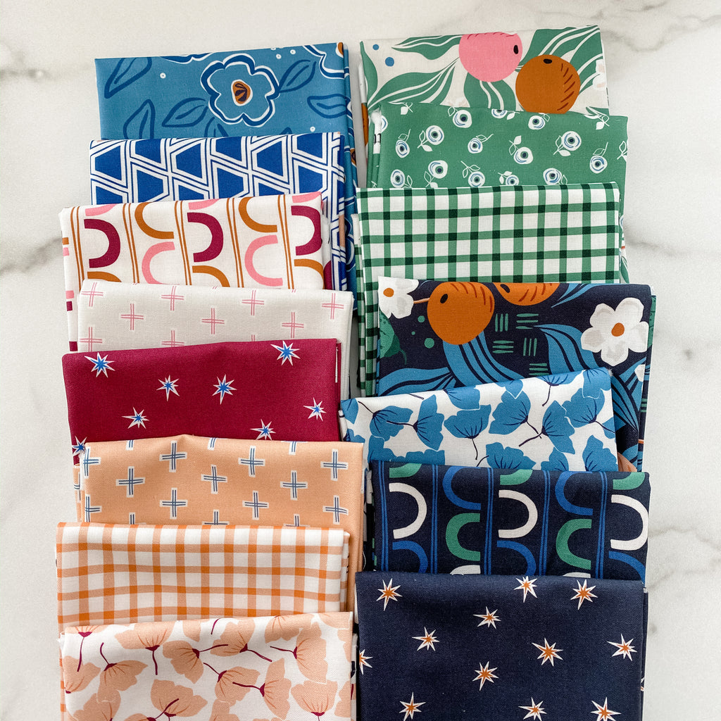 A Life in Pattern by Cathy Nordstrom for FIGO Fat Quarter Bundle