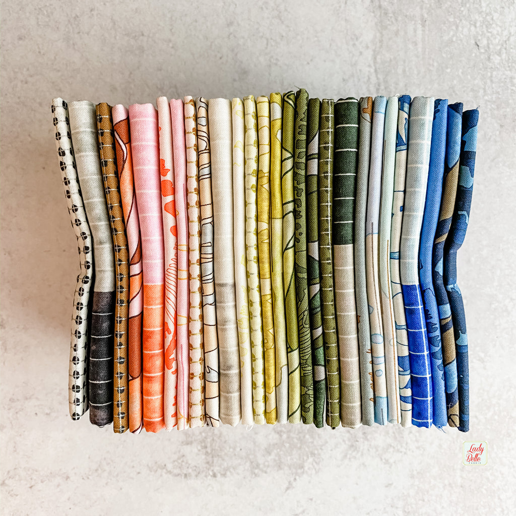 Jetty by Carolyn Friedlander for Robert Kaufman Fat Quarter Bundle