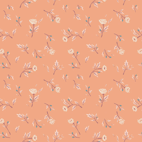 Miss Ditzy's Peachcobbler from Little Clementine by Art Gallery Fabrics