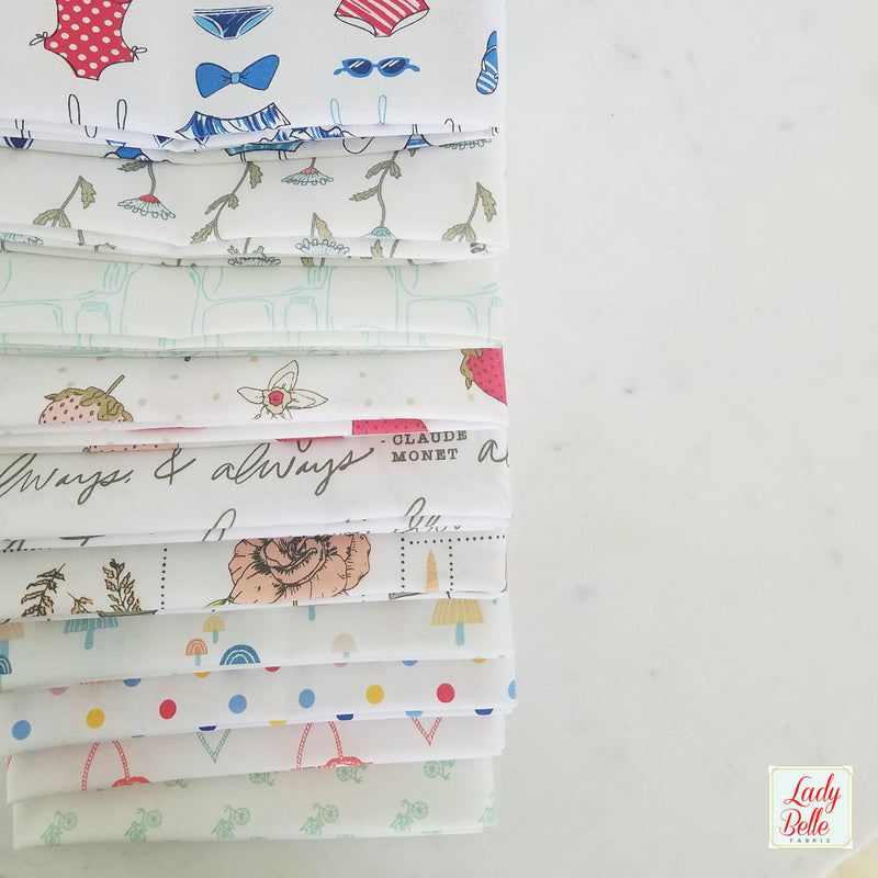 Little Ruby by Bonnie and Camille for Moda Low Volume Fat Quarter Bundle