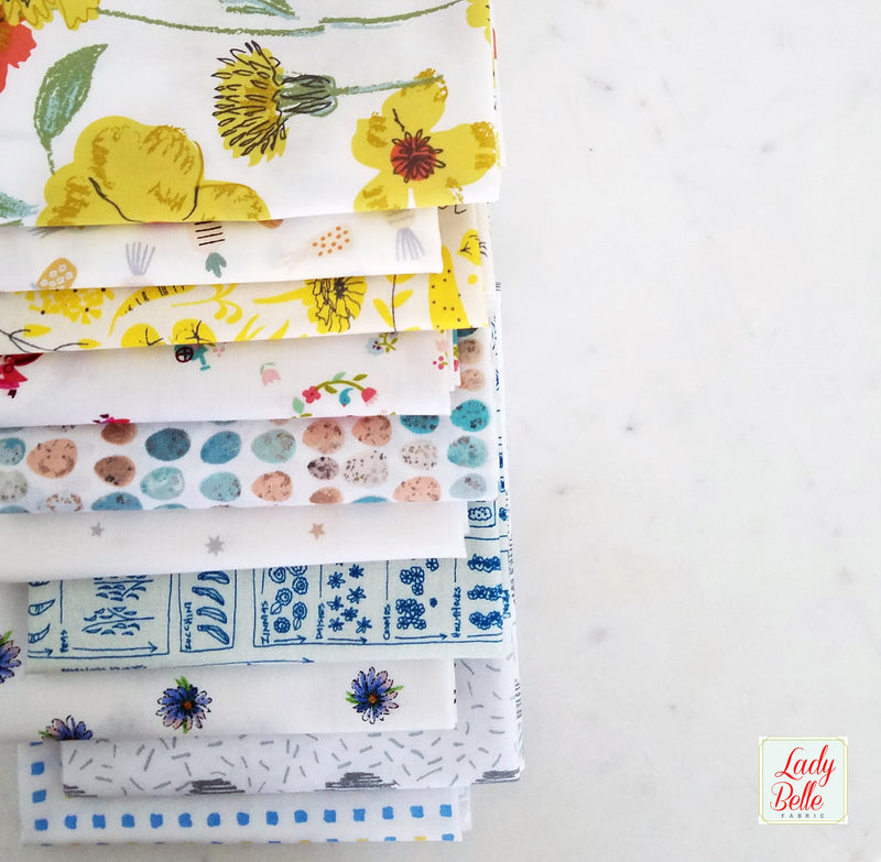 Best of Teagan White for Birch Fabrics Fat Quarter Bundle