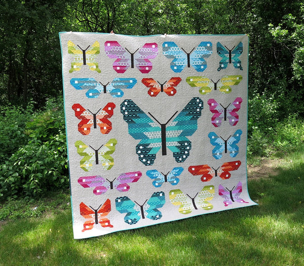 Lepidoptera Quilt Kit By Elizabeth Hartman Lady Belle Fabric