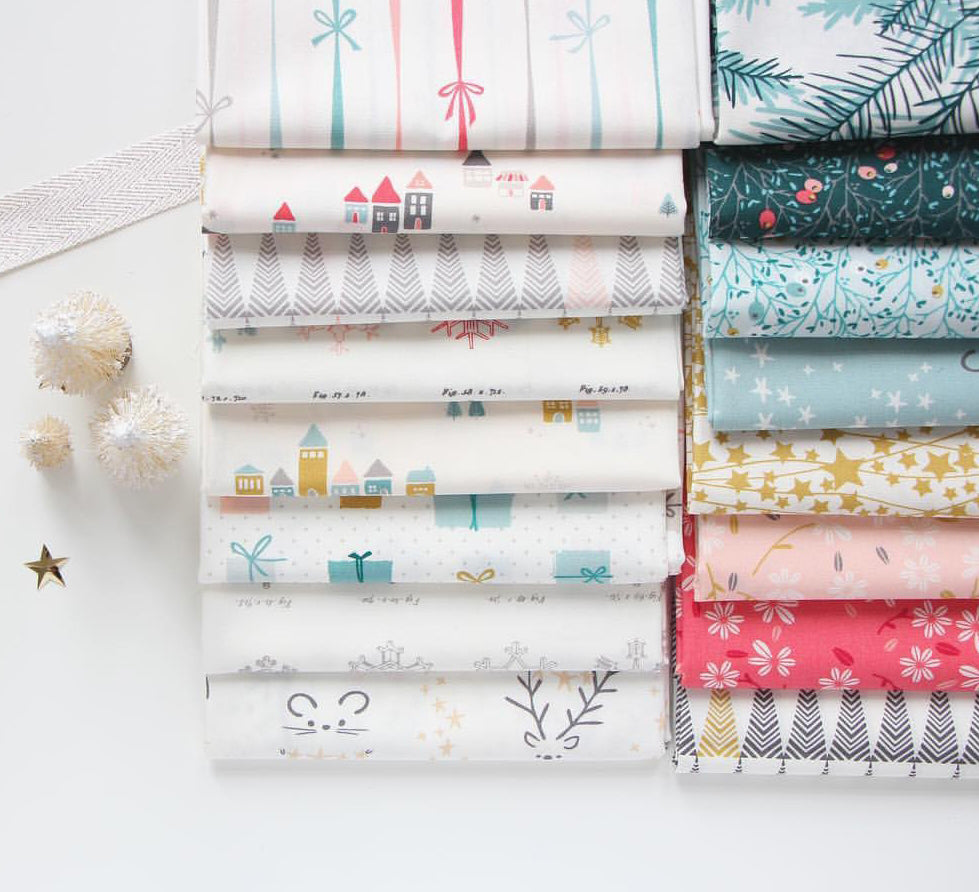Little Town by Amy Sinibaldi for Art Gallery Fabrics Fat Quarter Bundle
