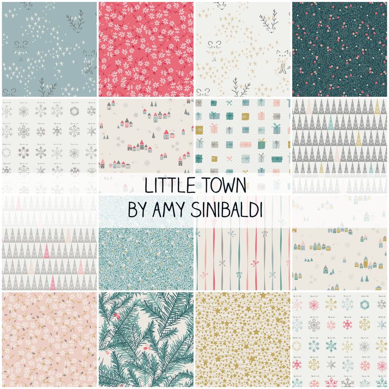 Little Town by Amy Sinibaldi for Art Gallery Fabrics Half Yard Bundle