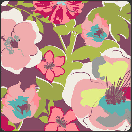 Modernology by Pat Bravo for Art Gallery Fabrics Fashionable Rouge - Lady Belle Fabric