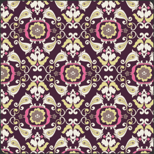 Paradise by Pat Bravo Dark Chic Paper - Lady Belle Fabric