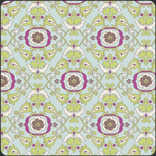 Paradise by Pat Bravo Light Chic Paper - Lady Belle Fabric