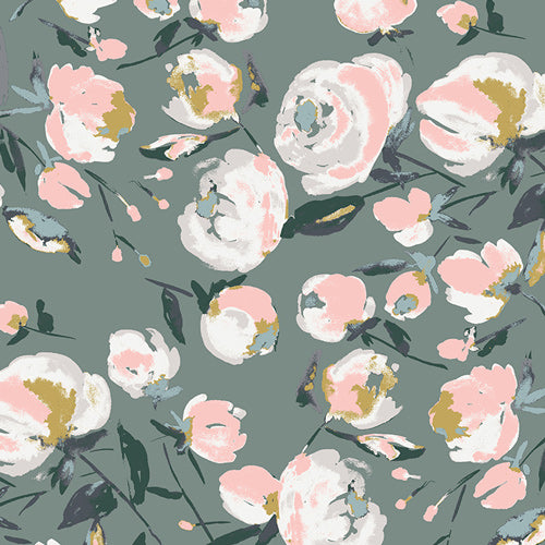 Everlasting Blooms Sparkler by Bari J for Art Gallery Fabrics