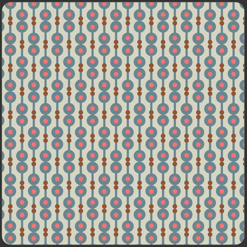 Retro Harmony Spice by Pat Bravo for Art Gallery Fabrics - Lady Belle Fabric