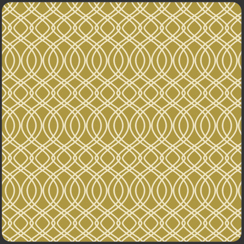 Splendor 1920 by Bari J Knotted Trellis Olive - Lady Belle Fabric