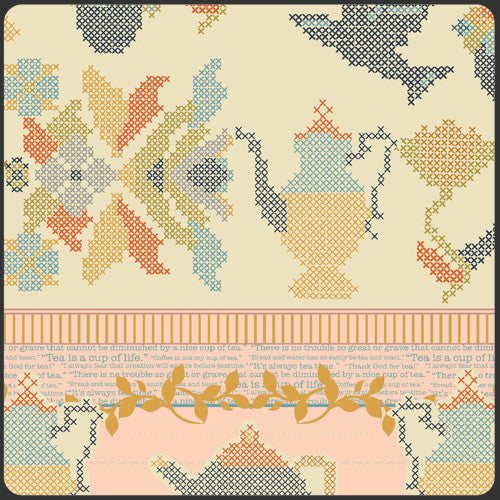 Butterfly Magnify Pink by Cinderberry Stitches for Riley Blake