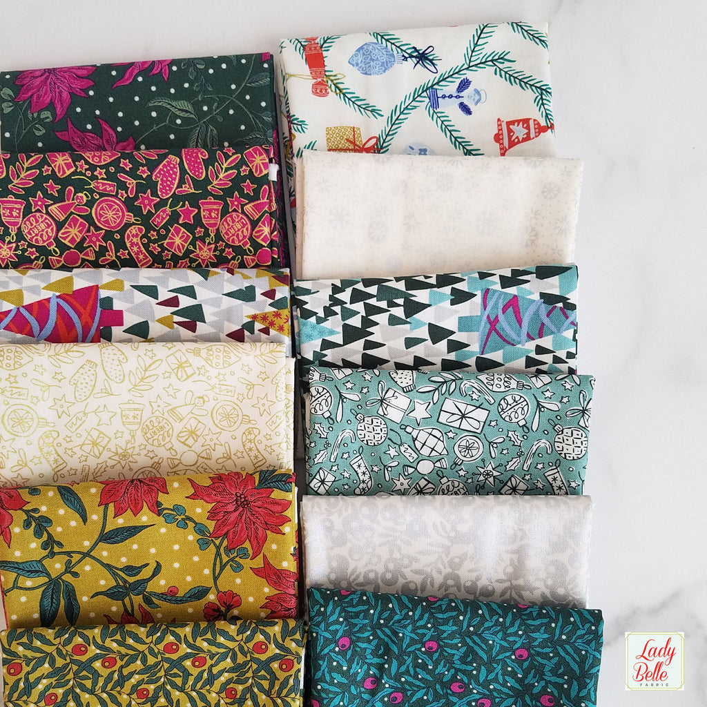 Season's Greetings by Liberty of London for Riley Blake Fat Quarter Bundle
