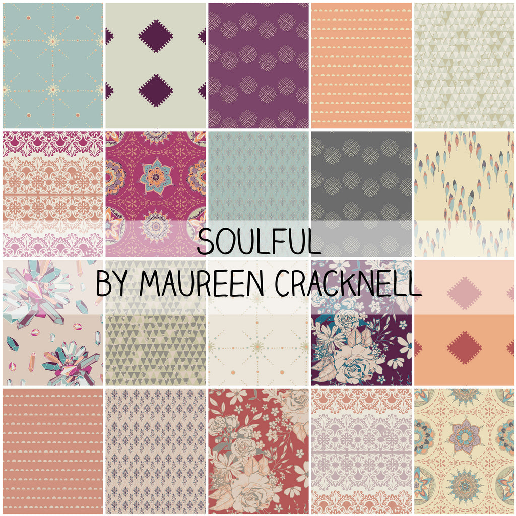 Soulful by Maureen Cracknell for Art Gallery Fabrics Fat Quarter Bundle