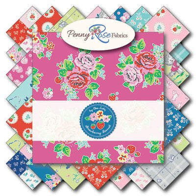 Strawberry Biscuit by Elea Lutz for Penny Rose Fabrics Fat Quarter Bundle