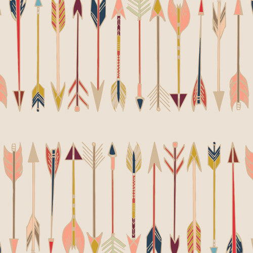 Wild and Free by Maureen Cracknell Fletching Chant - Lady Belle Fabric