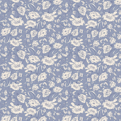 Wonderful Things Blooming Brook Moon by Bonnie Christine for Art Gallery Fabrics