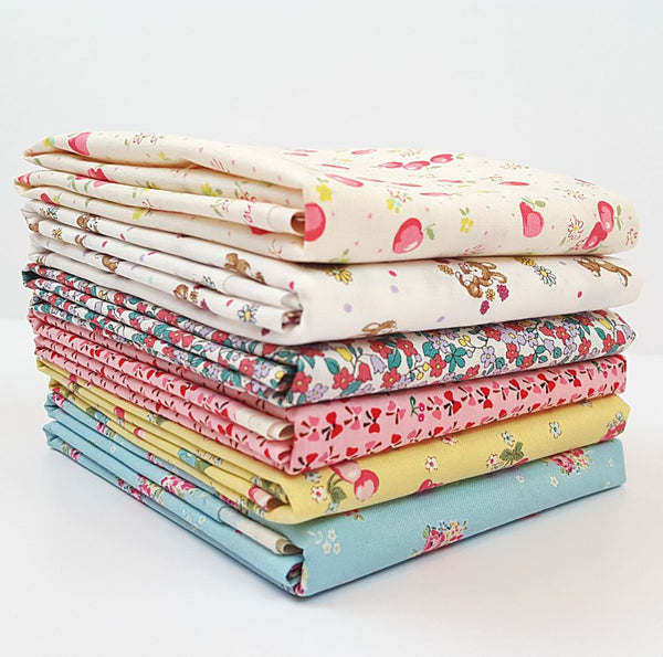 yuwa fabric, half yard bundle