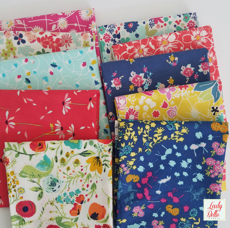 Tula Pink Basics by Tula Pink for Free Spirit Fat Quarter Bundle